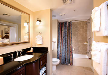Marriott Frenchmans Cove St. Thomas Guest BathRoom