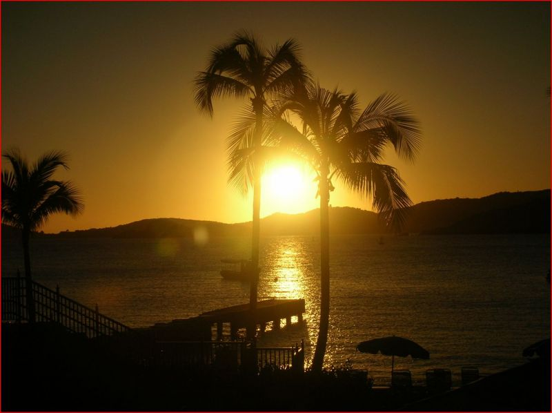 Marriott Frenchmans Cove St. Thomas Sunset